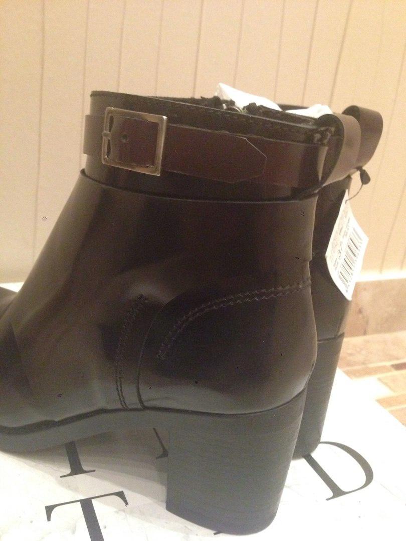 Новые демисезонные ботинки на высокий подъем ноги 37 размера