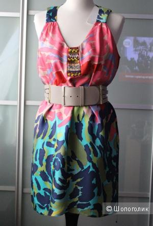 Шелковое платье Tibi р-р S , M
