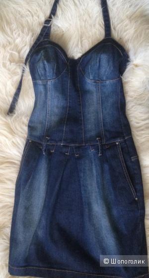 Платье джинсовое Rinascimento размер S на 40-42