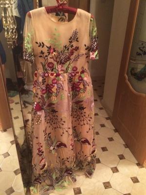 Вечернее платье с ТаоБао Sohococo 44-46 размер