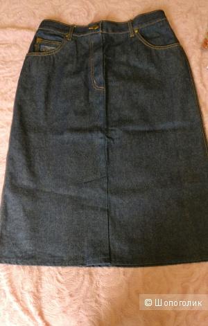 Джинсовая юбка Montana оригинал, размер  XL винтаж