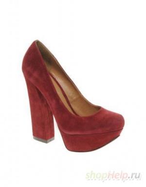 Туфли ALDO свекольного цвета р.37 (UK 4)