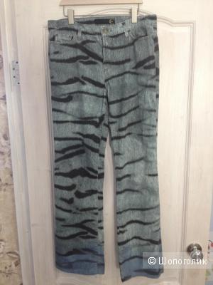 Джинсовые брюки Cavalli, размер 46-48