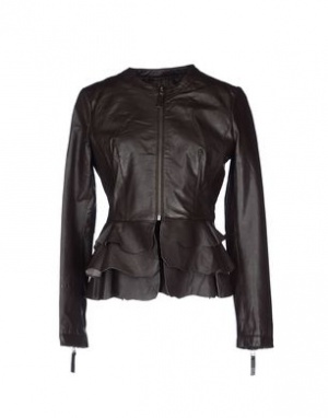 Кожаная куртка D`amico размер 44