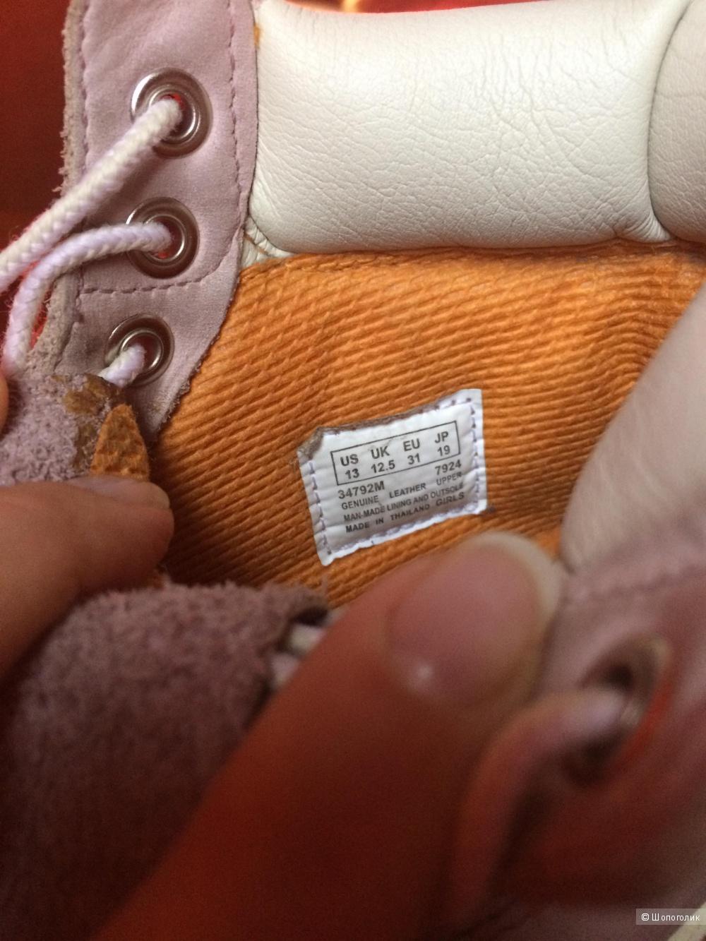 Ботиночки детские timberland на 31 размер