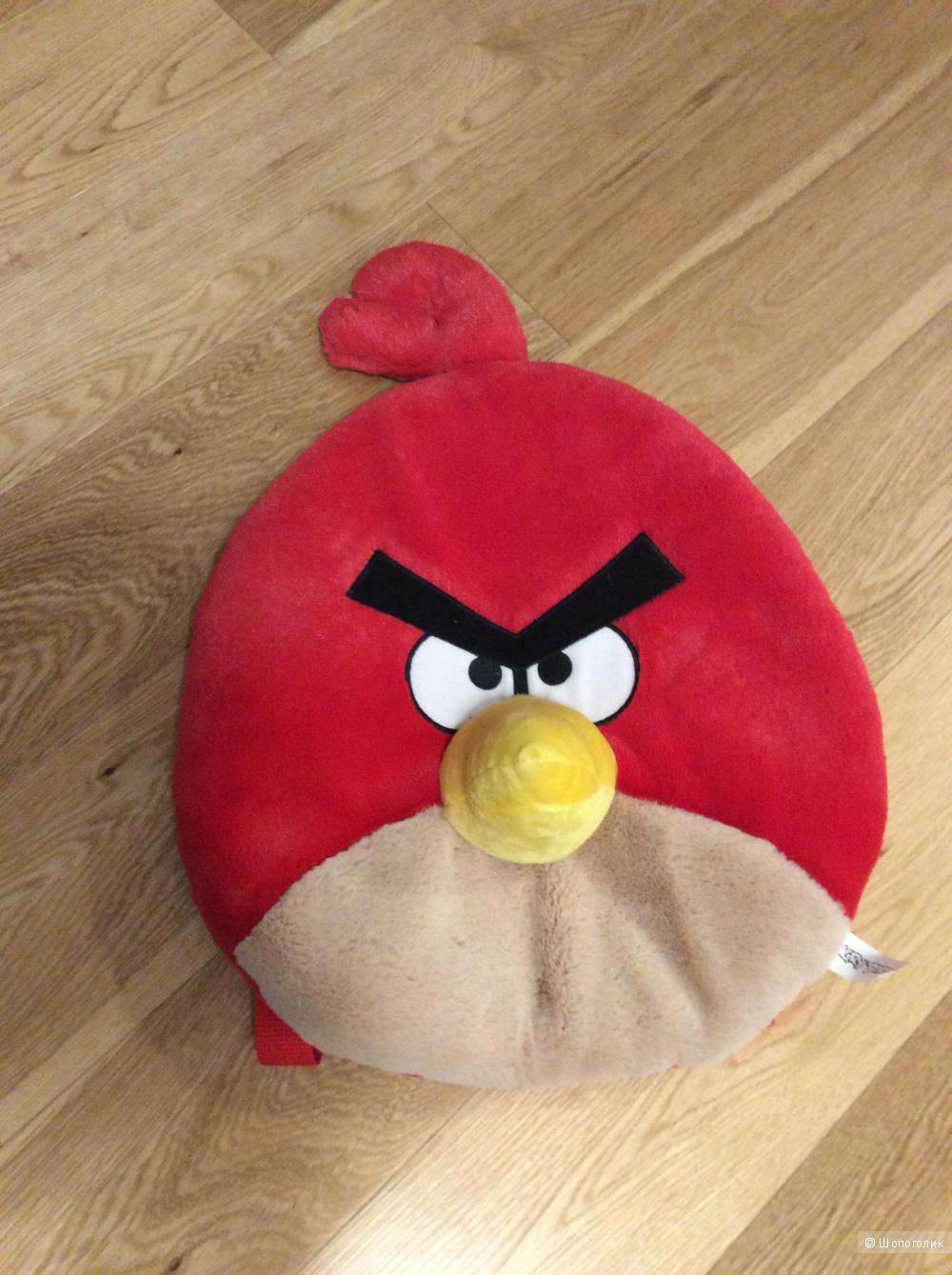 Детский рюкзак Angry Birds из плюша