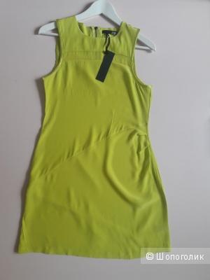 Платье шелк 100% Anna catherine хs