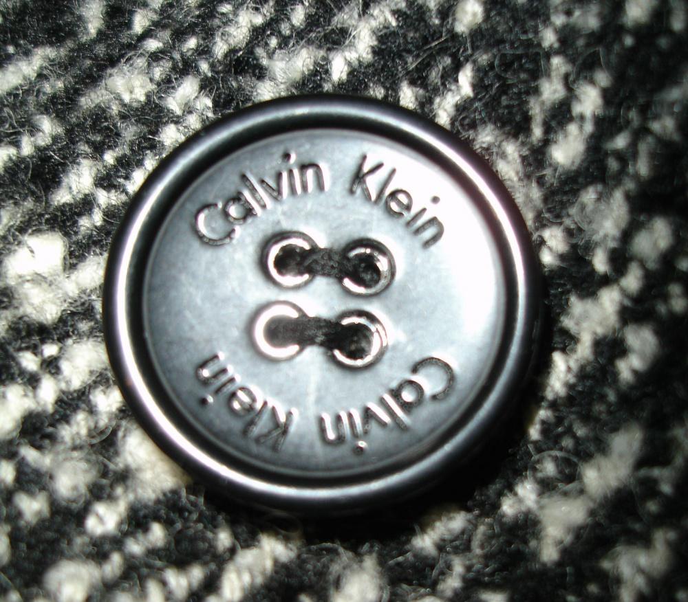 Пальто Calvin Klein, размер US2, 50% шерсть