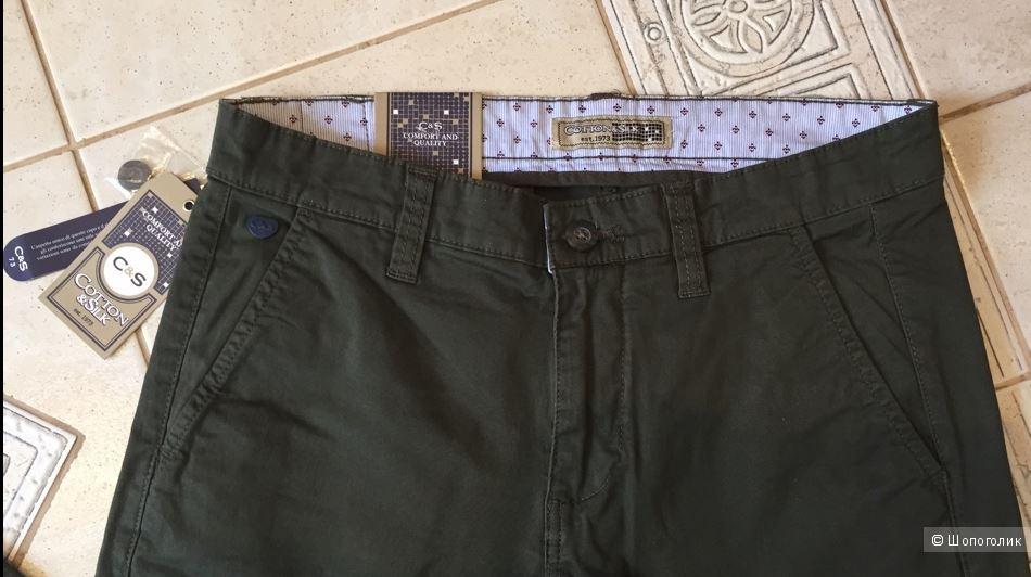 Брюки мужские Cotton & Silk р.46ит