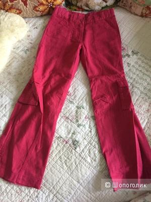 Льняные брюки ф.Mothercare для девочки 128 разм