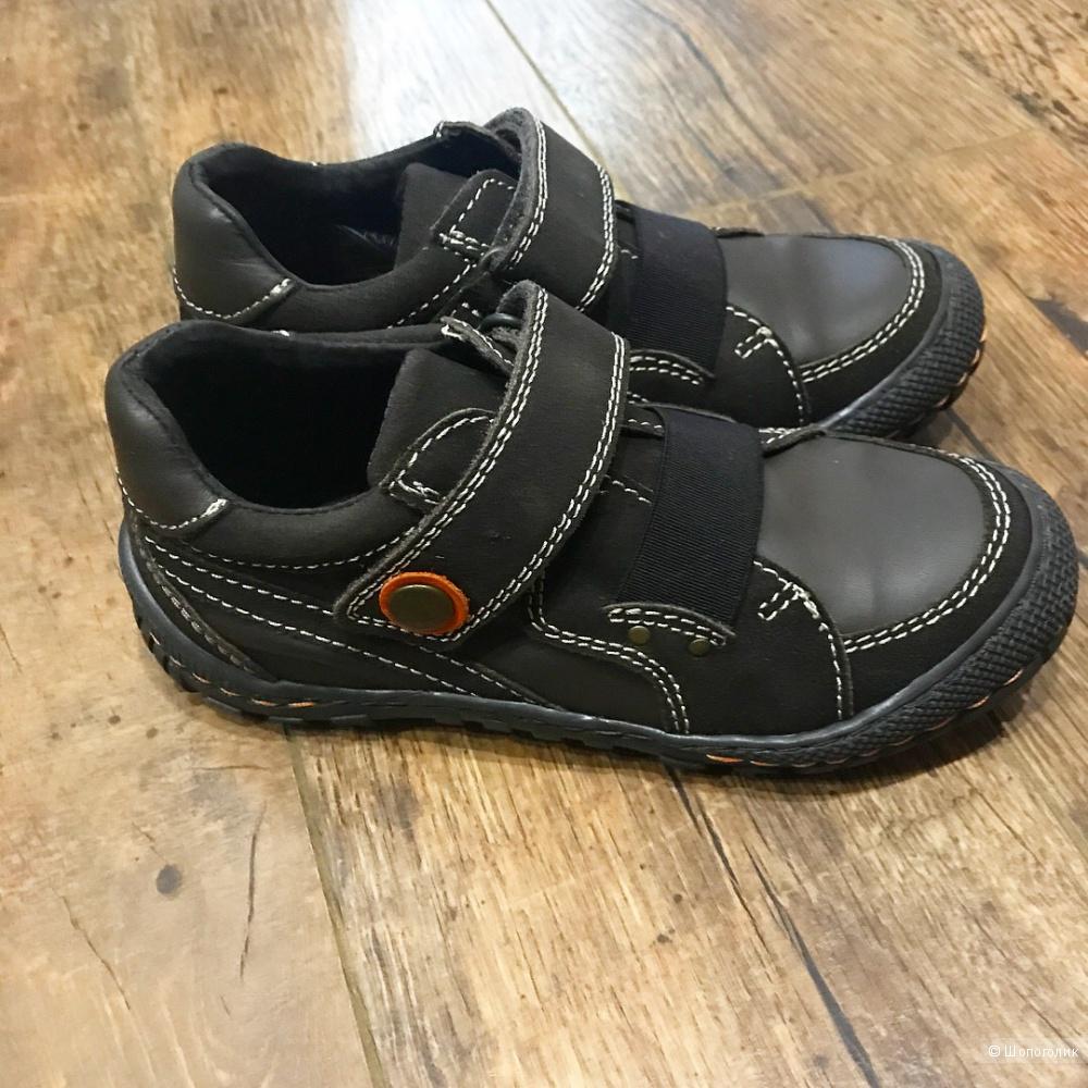 Ботинки - кроссовки из натуральной кожи, DPAM (Франция), 32