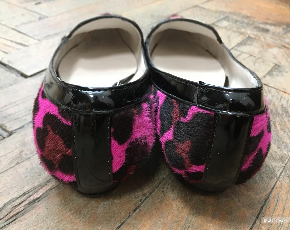 Леопардовые туфли  LauraAmat , 38 размер