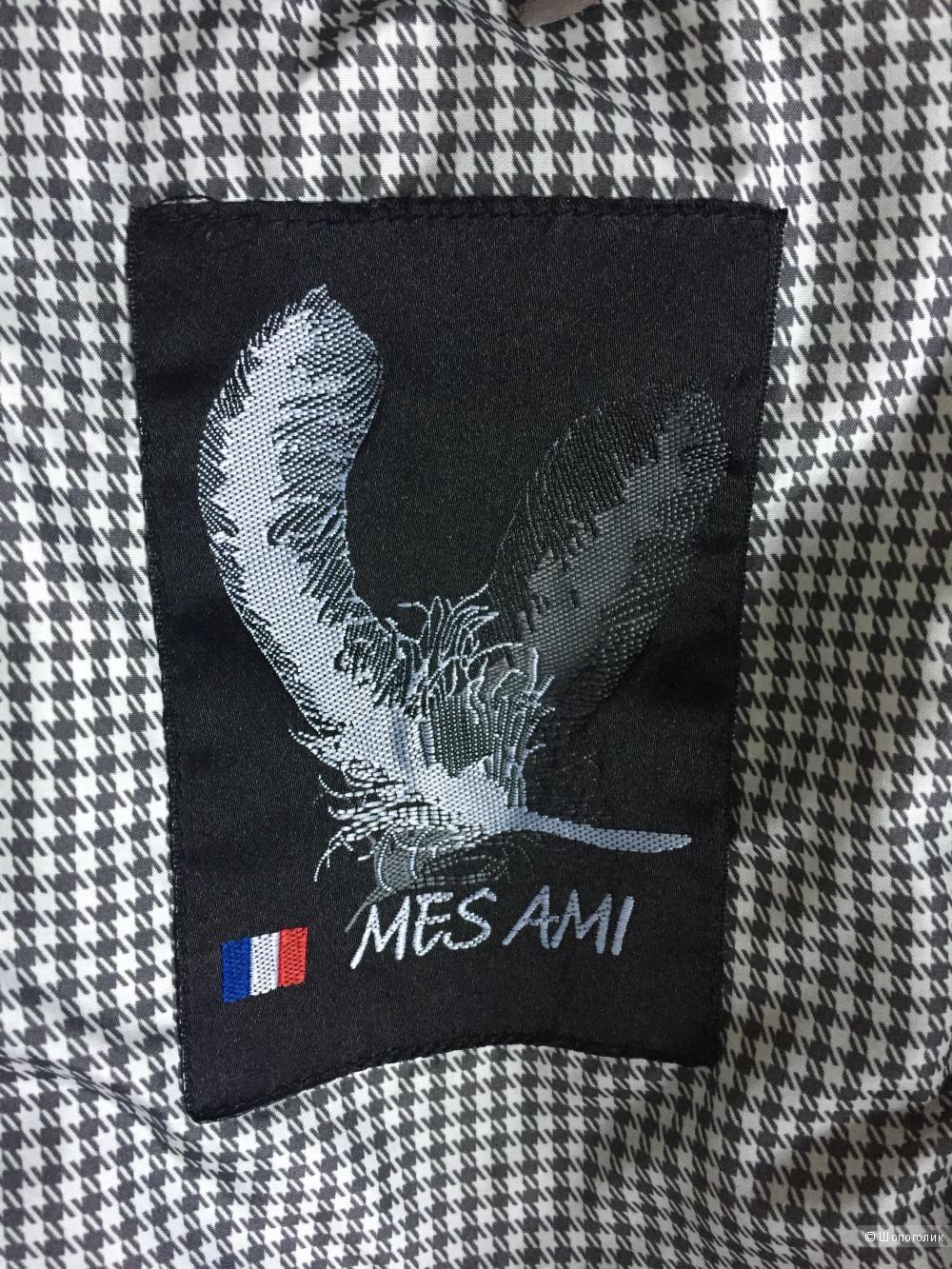 Пуховик для девочки ф.Mes Ami (Франция) 10 лет