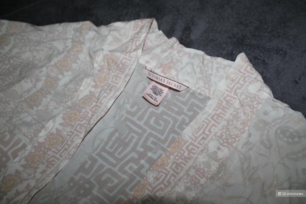 Victoria's Secret пляжная накидка / домашнее кимоно, цвет ivory, one size