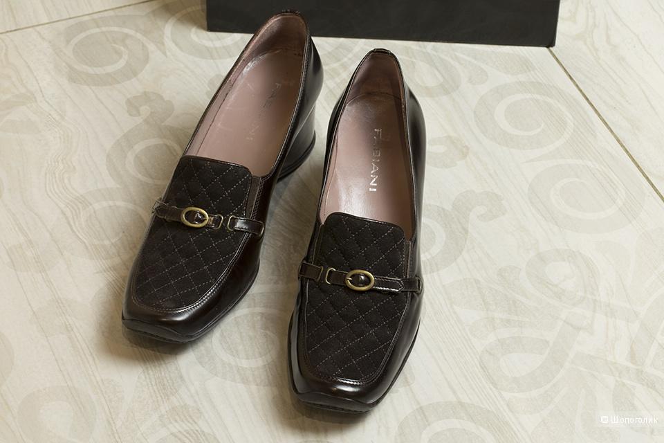 Туфли женские на танкетке Giovanni Fabiani, 41.5 размер.