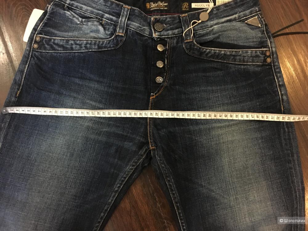 Темно-синие джинсы Replay 28/32, на высокий рост. На рос. 48 размер.