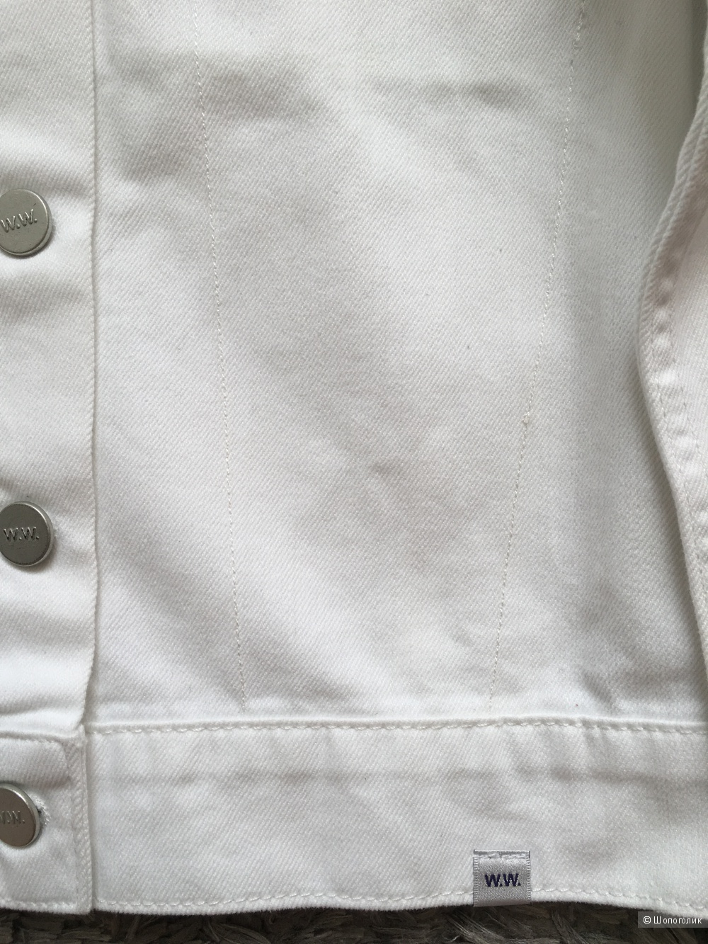 Джинсовая куртка WOOD WOOD, 42 (RUS), 34 (DE)