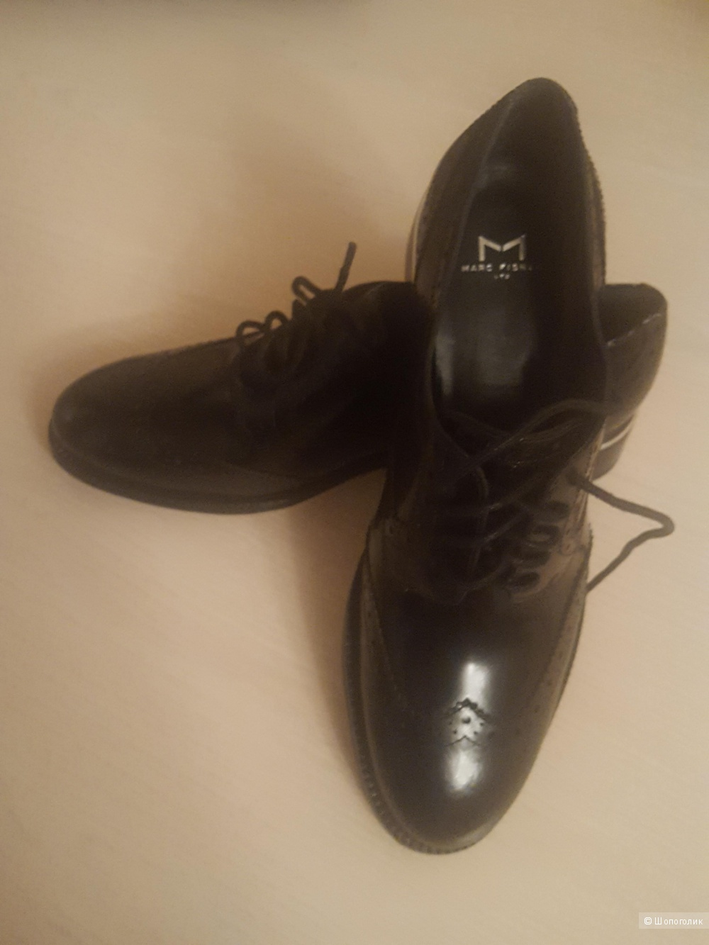 Кожаные ботинки MARC FISHER, размер 36