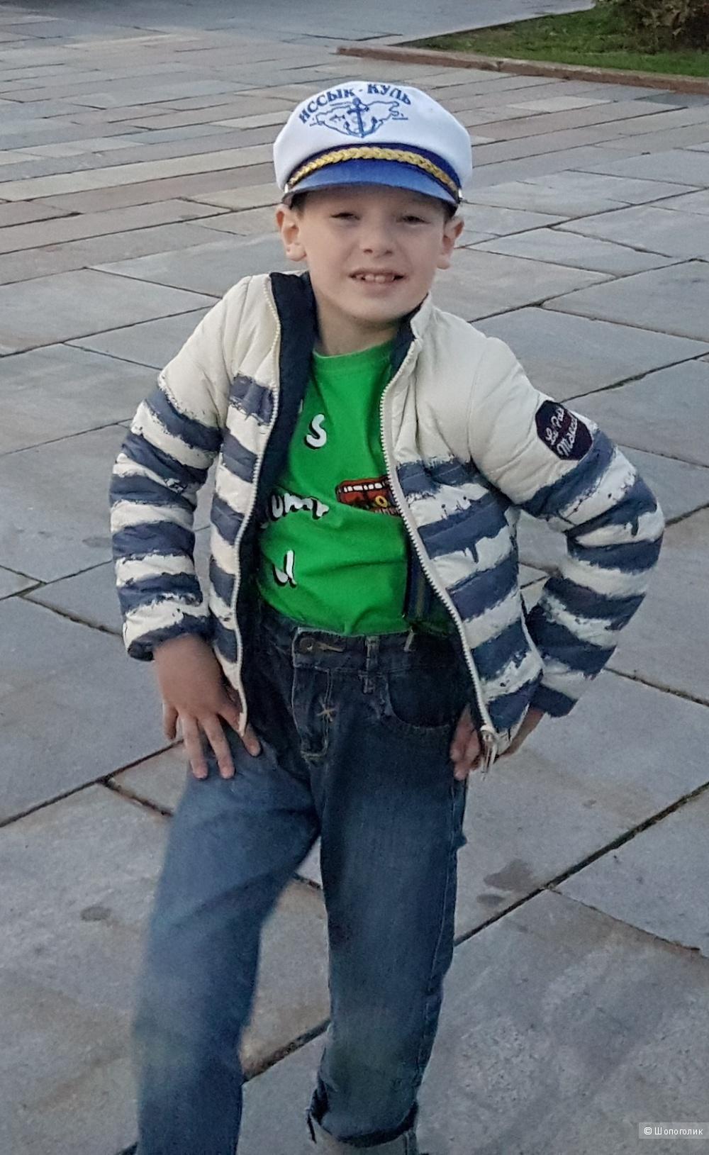 Детский двухсторонний пуховичек  LE PETIT MARCEL, 6 лет.