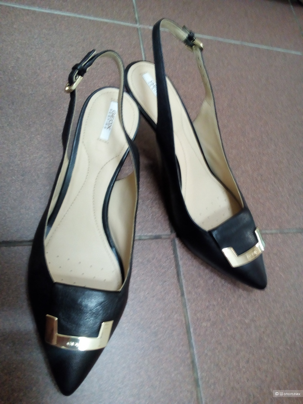 Туфли  geox,  39,5 размер