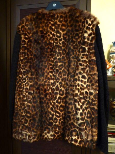 Меховая куртка Dries Van Noten размер L