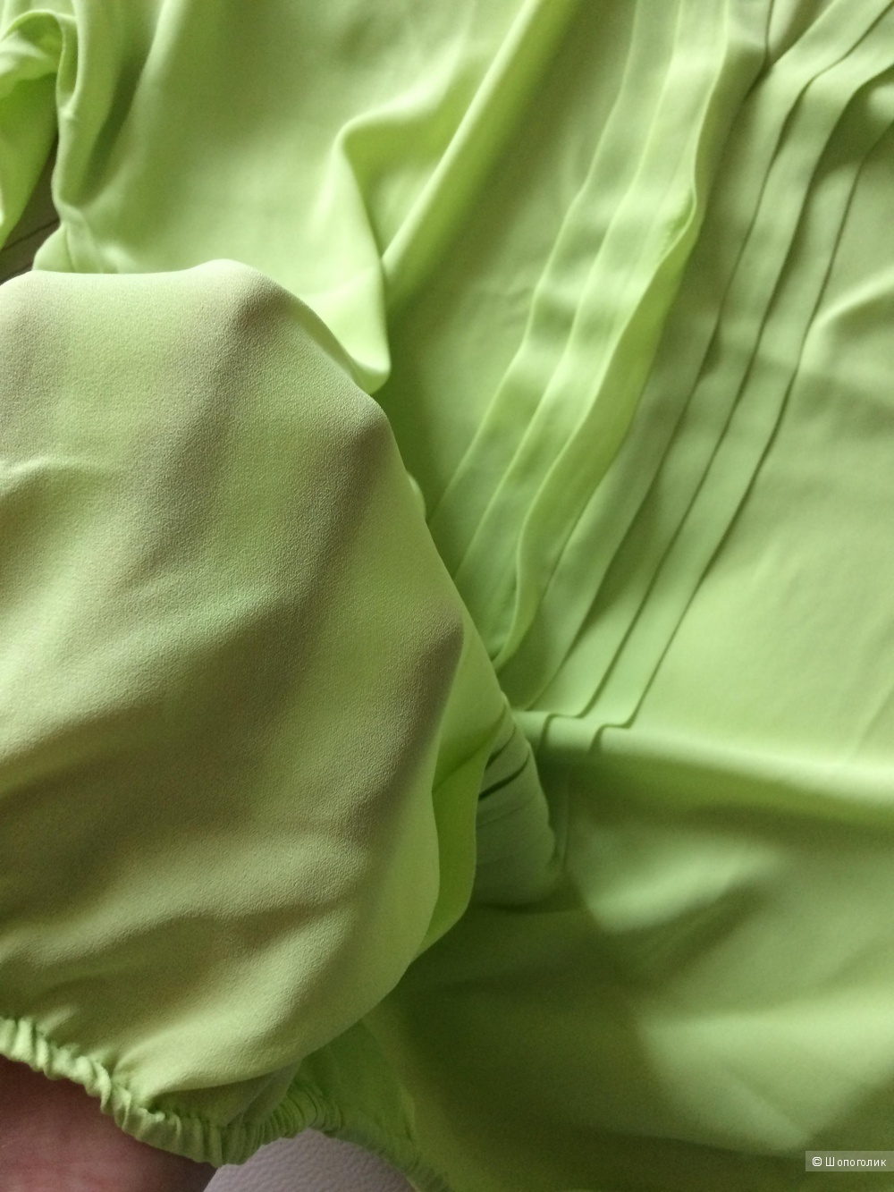 Блузка шифон киви 46-48-50разм