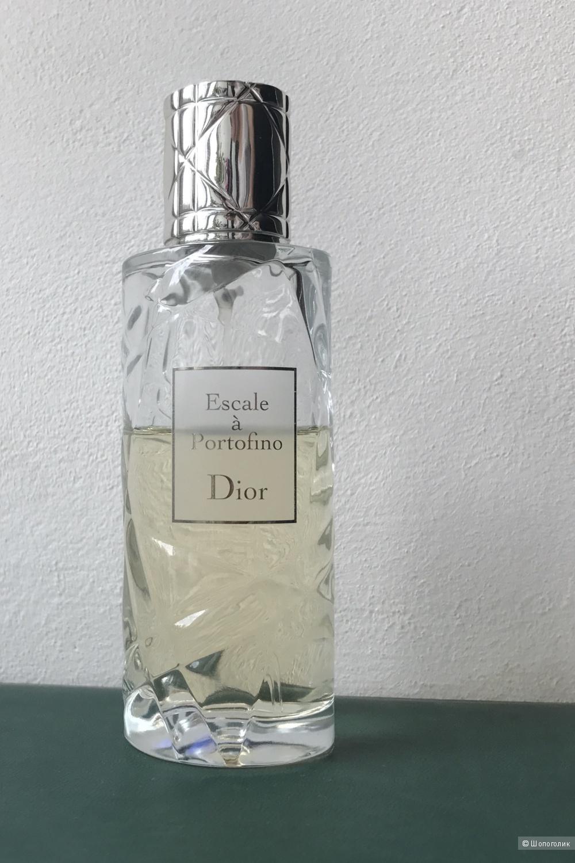 Духи Escale  a Portofino Christian Dior, 75 мл, остаток виден на фото