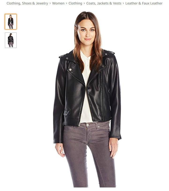 Куртка-косуха Lucky Brand серого цвета, размер S