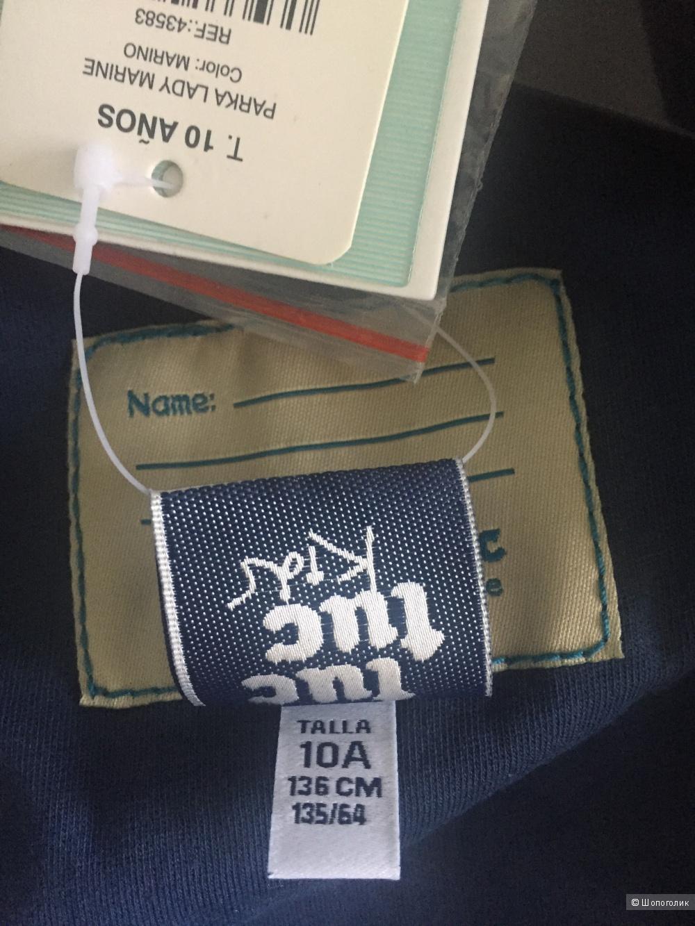 Укороченный плащик для девочки ф.TUC-TUC 10 лет