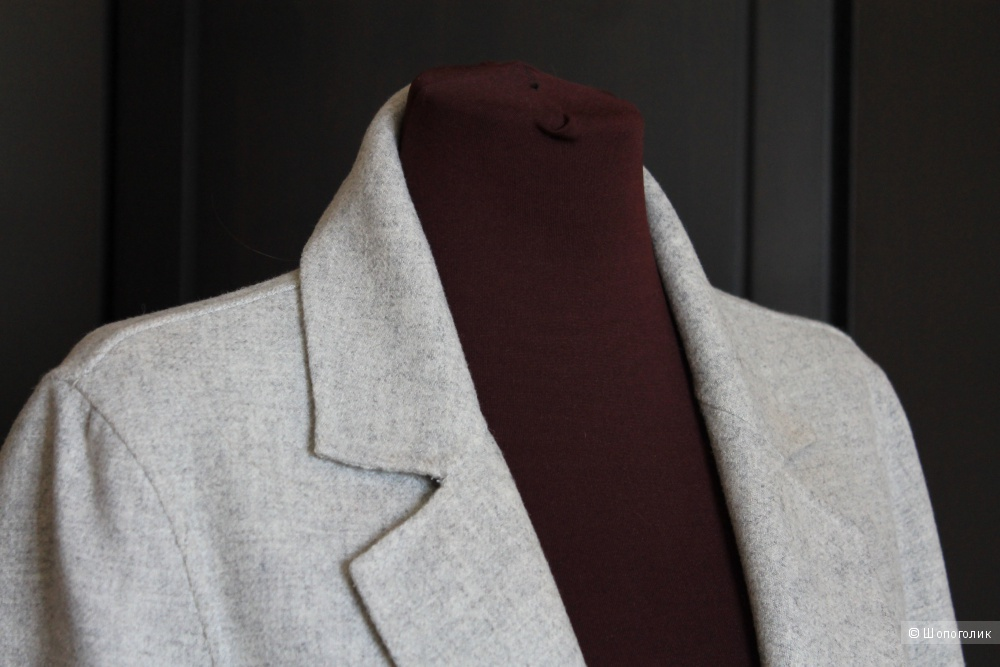 Zara Woman Пальто Серое 44