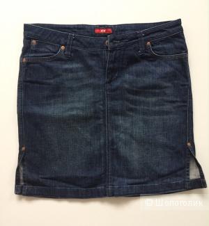 Джинсовая юбка прямой силуэт марка MEXX размер 29