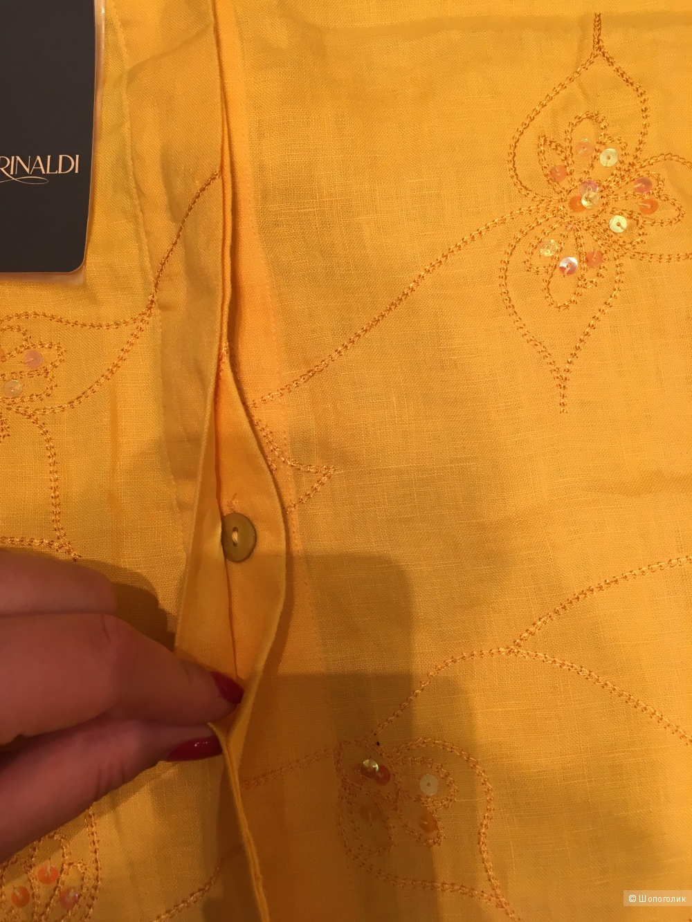Marina Rinaldi костюм 100% лен фирм размер 21-25 = 52-58 рос размер