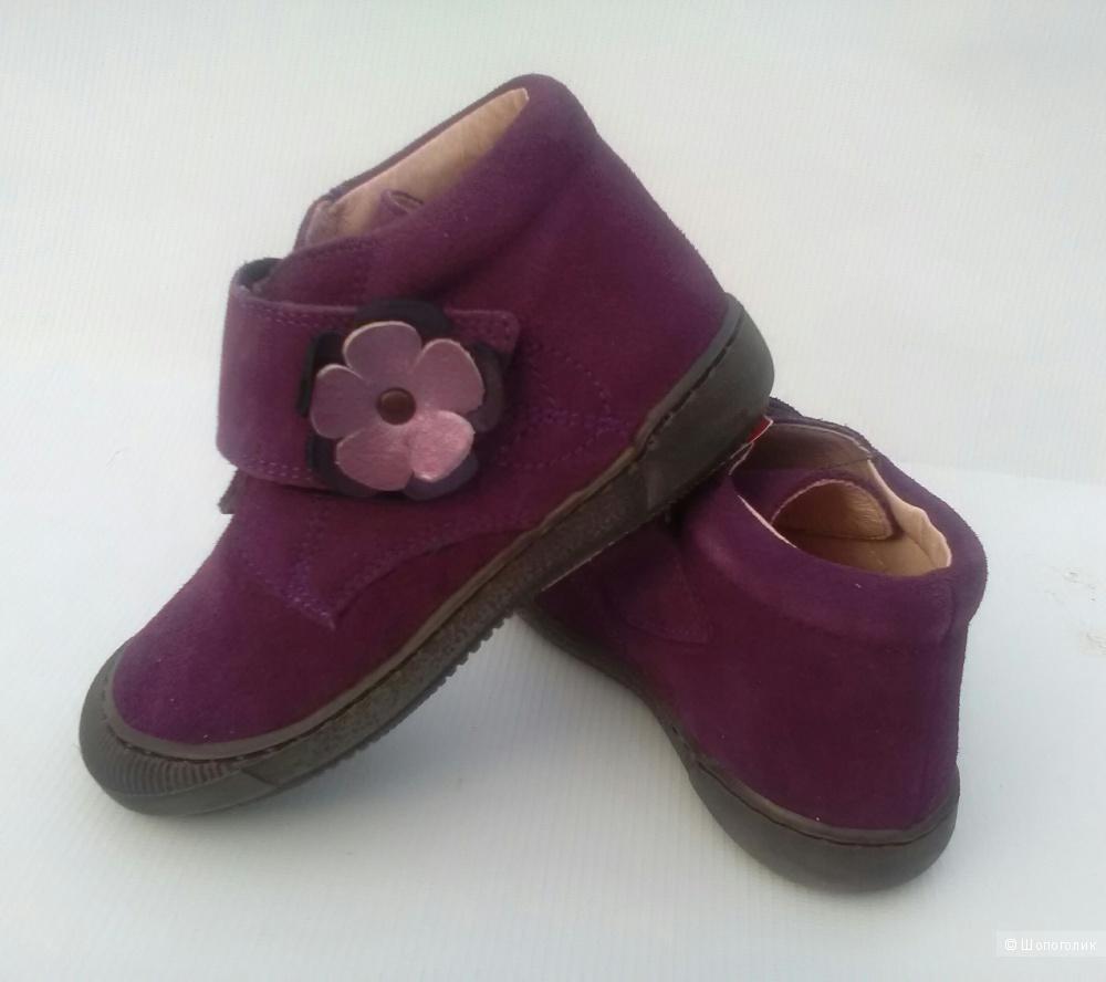 Ботинки для девочки ,27 DRAM. Франция.