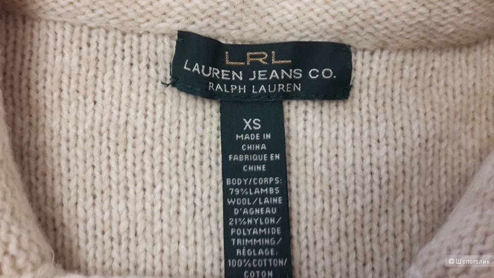Кардиган Ralph Lauren, размер xs