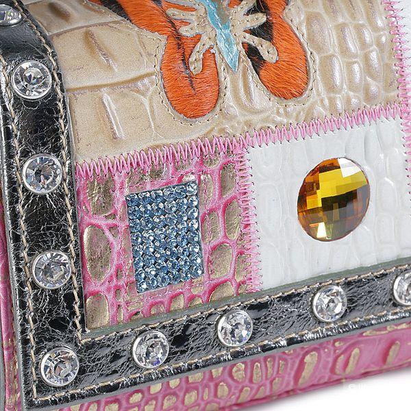 Сумочка дизайнера Каталин Пели с кристаллами Swarovski