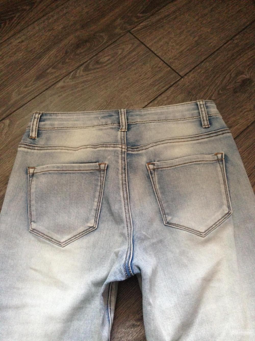 Классные джинсы скинни Brave Soul Angie (8 uk) - большемерят на размер