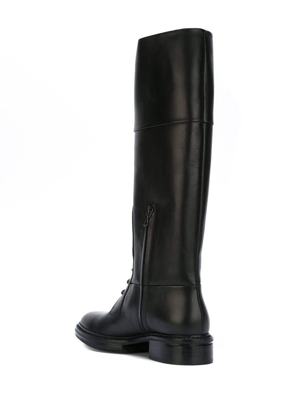 Сапоги Lanvin 38.5 размера черного цвета