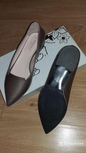 Туфли Estrosa  Италия, кожа, размер 36.