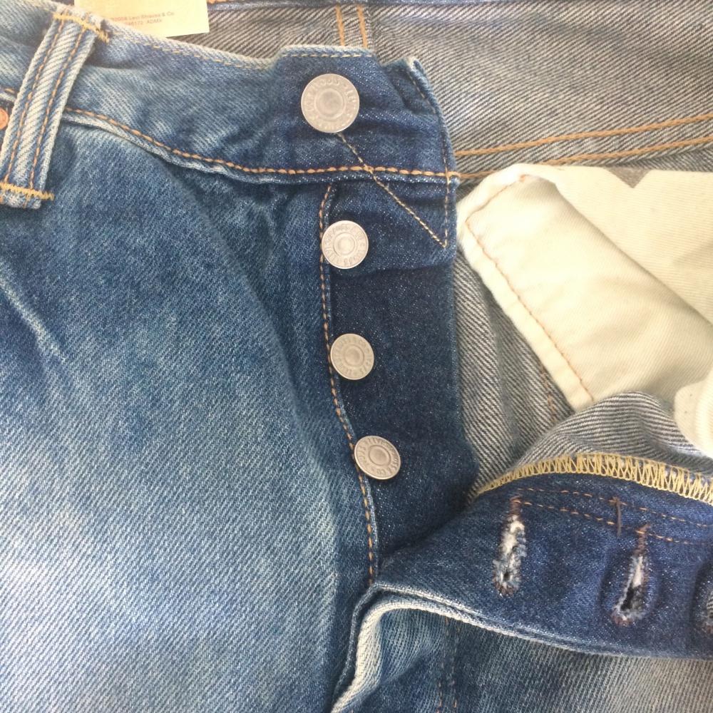 Новые джинсы Levi's 501 Straight Leg 34/34