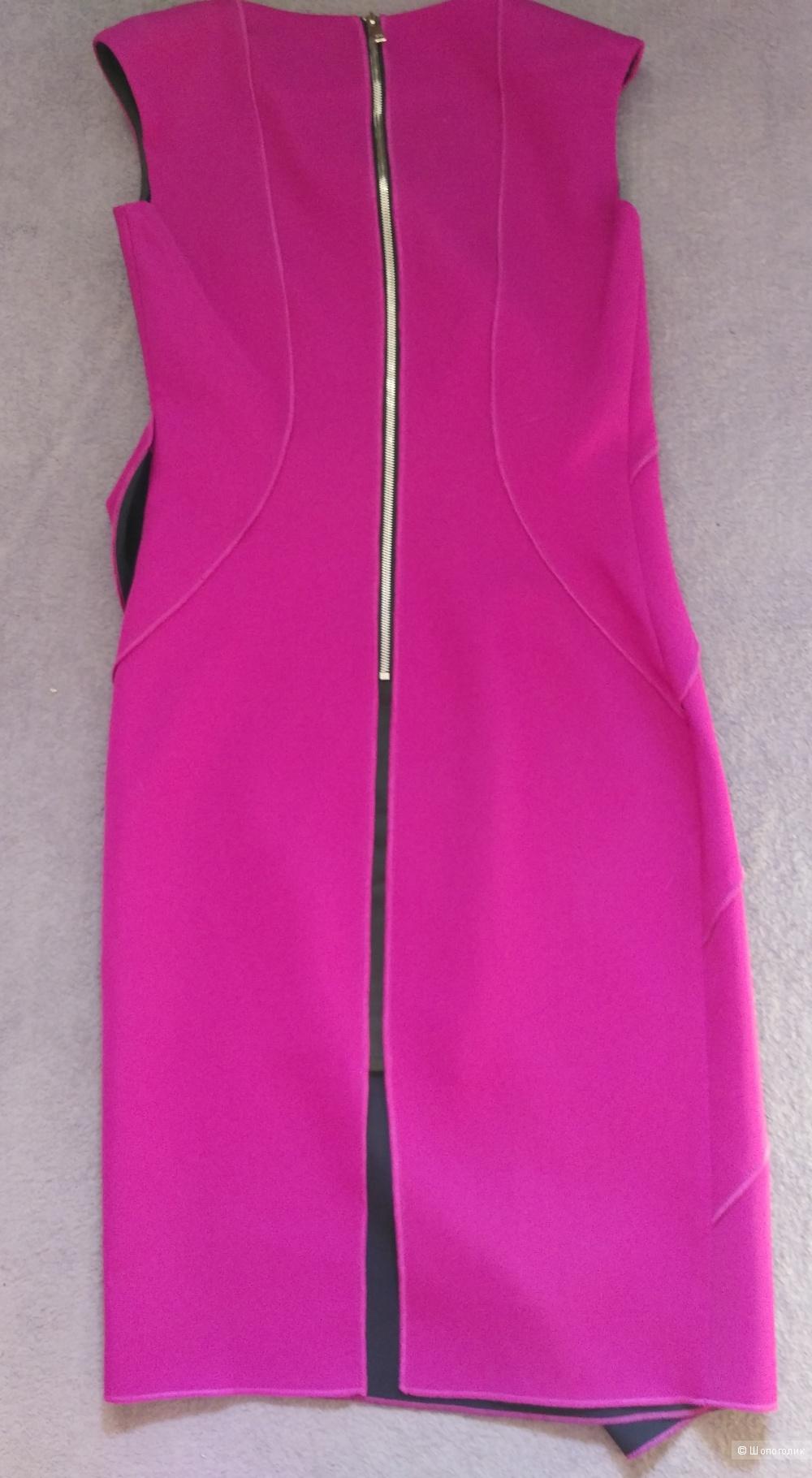 Праздничное платье Lakbi размер 46 (хорошо на 44-46) цвет малина