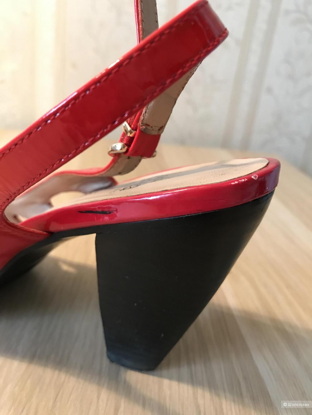 Босоножки красные Moda donna, 38 размер