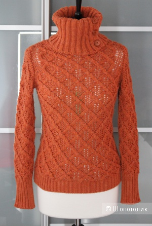 Новый теплый свитер xs