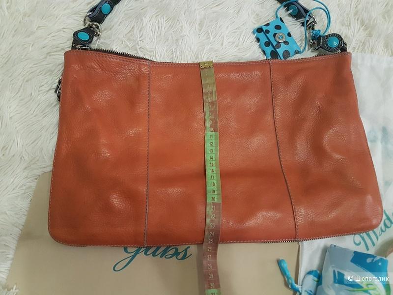 Кожаная женская сумка - трансформер GABS