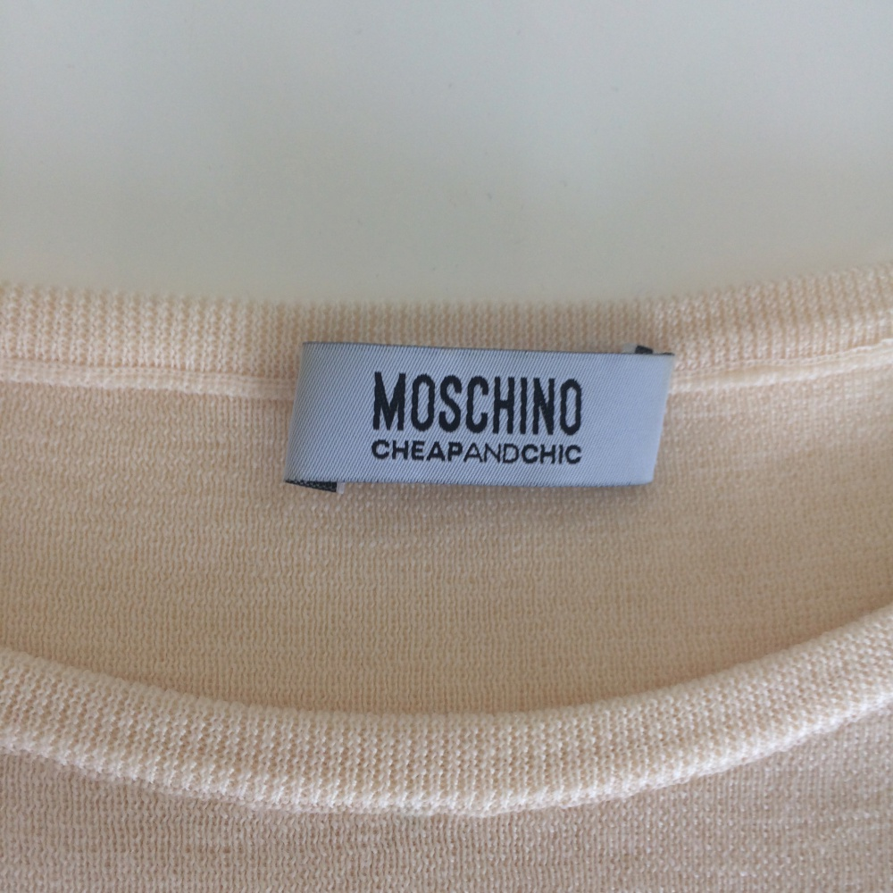 Свитер Moschino MOSCHINO CHEAP AND CHIC, 40