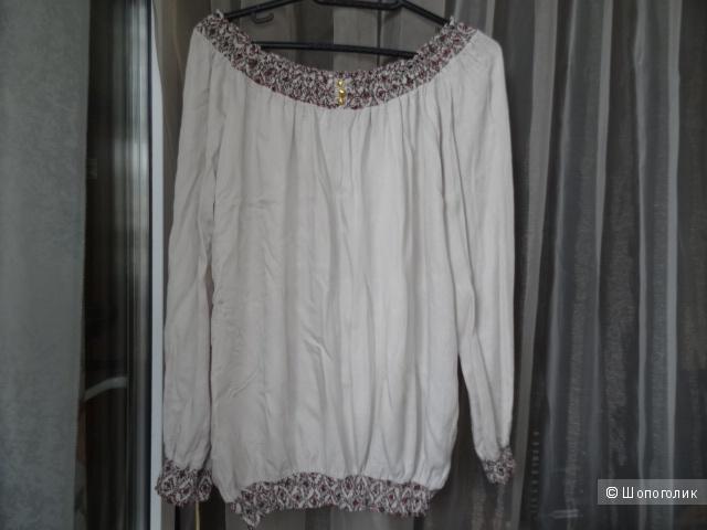 """Итальянская блузка """"Pronto"""", размер 42-44, б/у"""