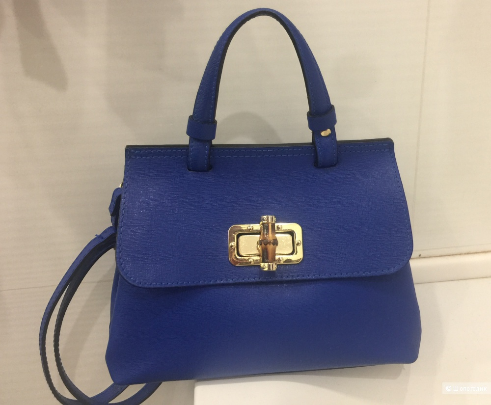 Сумка синяя Gaude Milano