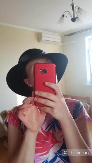 Черная осенняя шляпа, размер s