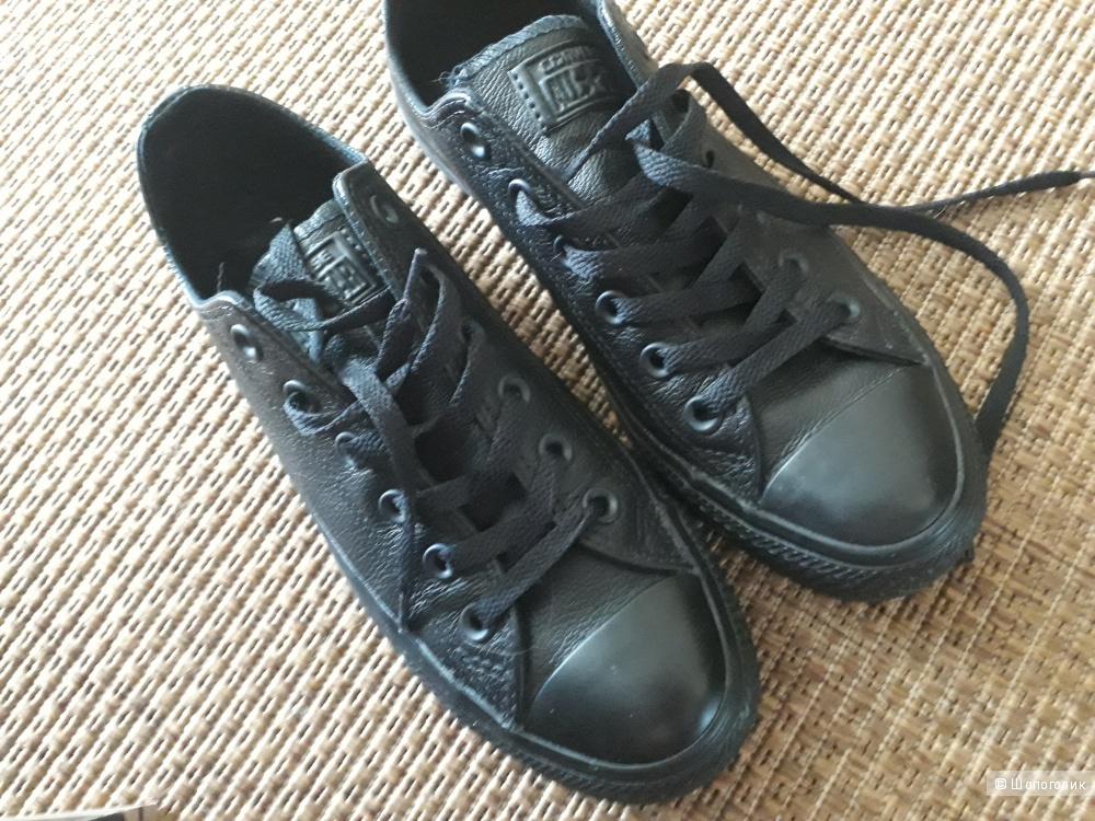 Оригинальные кожаные Converse, 25см