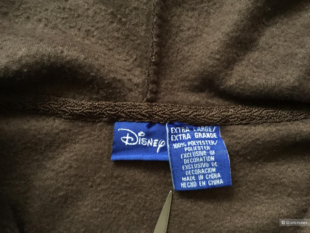 Худи коричневое CHIP&DALE с вышивкой героев от марки DESNEI  размер 44-46