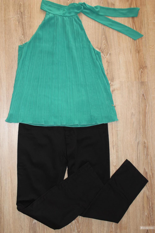 Черные брюки MOTIVI, Италия, размер 12